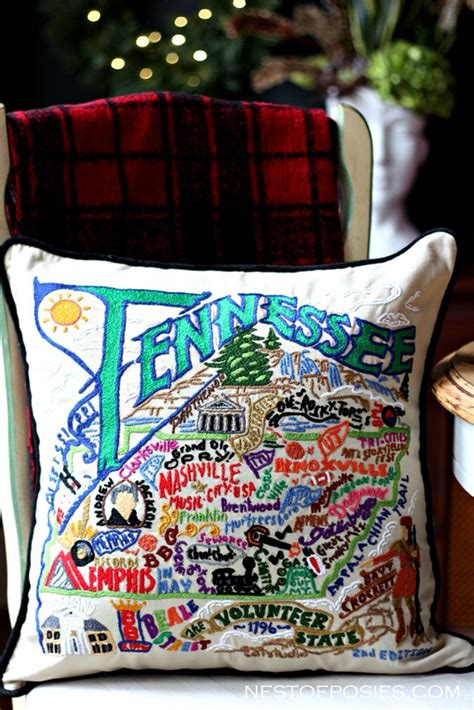 Tennessee Pillow by A Giveaway From Uncommon Goods