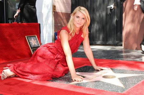 claire danes receives star on hollywood walk of fame with claire danes gets star on hollywood walk of fame celebmagnet