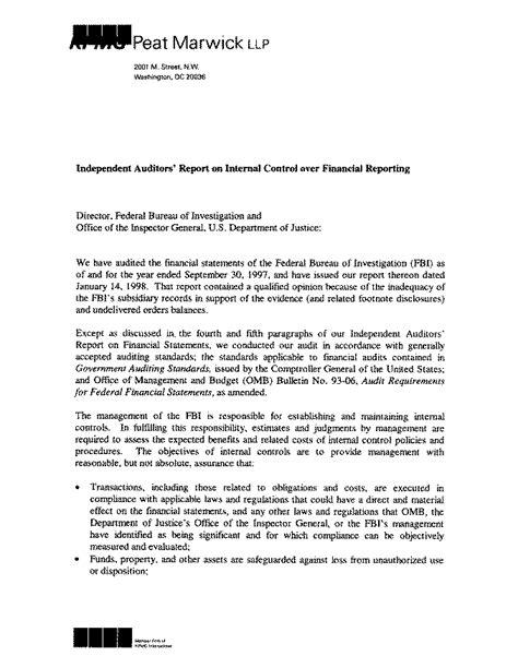 audit report 98 17