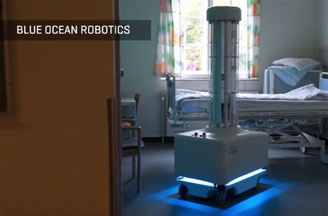 blue ocean robotics autonomous uv disinfection robot kills