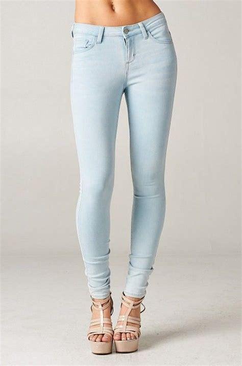 Light Denim Skinny Jeans Mx Jeans