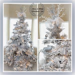 tree silver white: went with quot sparkle quot instead of my traditional red amp white