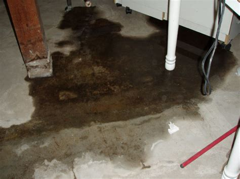 basement floor repair repairing leaking cracks in