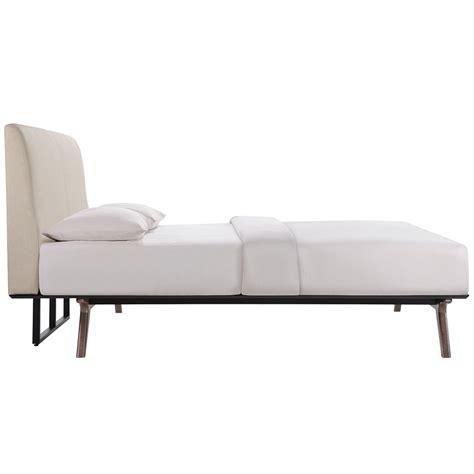 modern platform beds toronto beige bed eurway