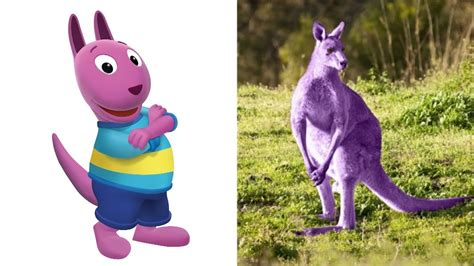 2m mal 2m bettdecke backyardigans kangaroo characters backyardigans