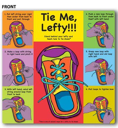 how to teach a kid to tie a shoe how to tie your shoes lefty lefties