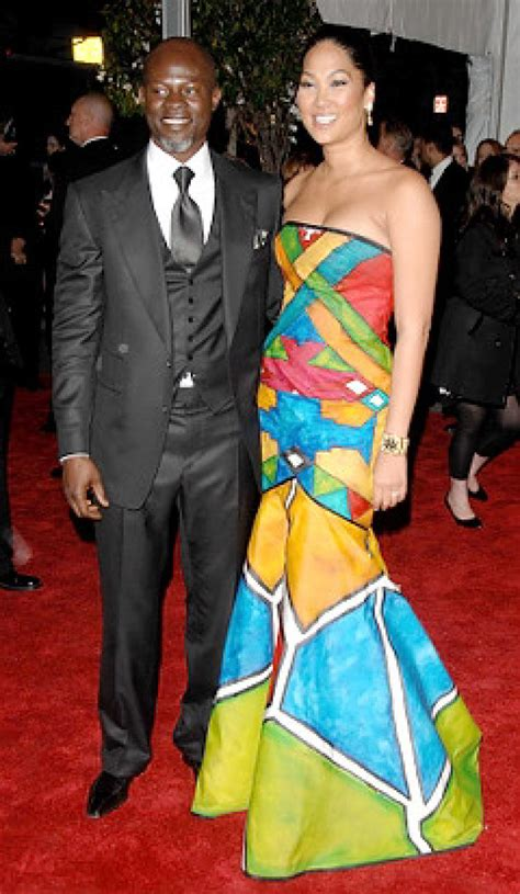 Kimora Simmons New Boyfriend Dijimon Hounsou by Kimora Simmons Of Engaged To Djimon Hounsou