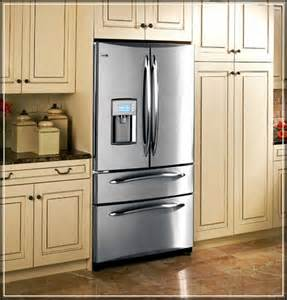 Cabinets Around Refrigerator The Top 5 Regular Counter Cabinet Depth Refrigerator To