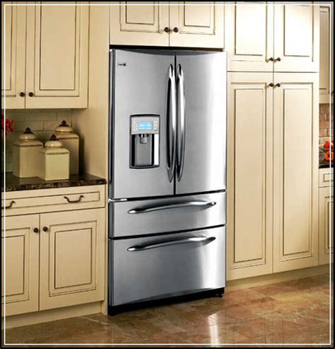 kitchen cabinets around refrigerator the top 5 regular counter cabinet depth refrigerator to