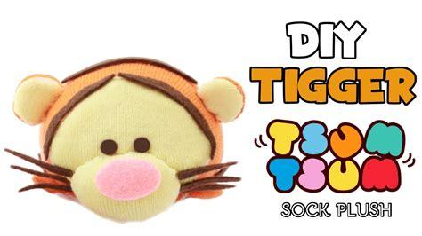 diy tigger tsum tsum sock plush collab with budgethobby
