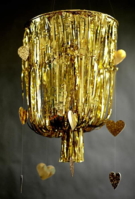 Gold Fringe Chandelier Diy Gold Fringe Chandelier Diy Projects 100 Layer Cake