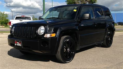 2010 Jeep Patriot North Edition Winnipeg Mb Black Rims