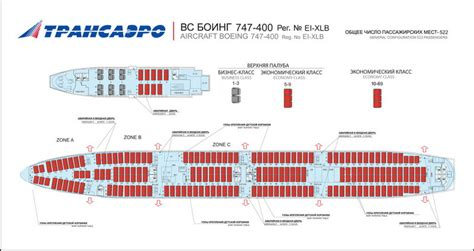 aircraft 747 seating plan transaero russian airlines aircraft seatmaps airline