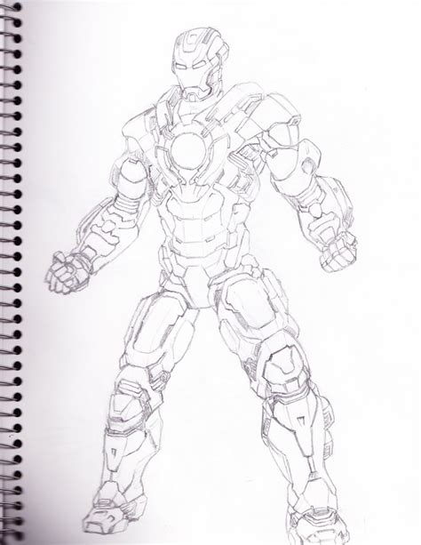 Iron Man Heartbreaker Coloring Pages | iron man mark 17 heartbreaker by infinitevirtue on deviantart