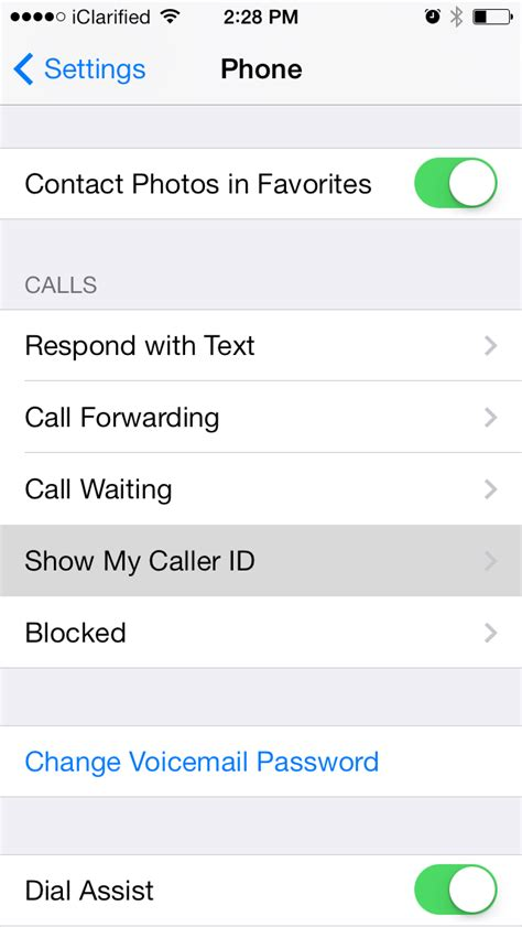 block caller id on iphone how to disable caller id and block your number on the iphone iclarified