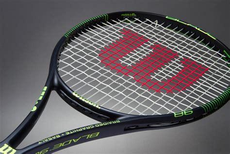 New Raket Tenis Wilson Fx 115 Wave White Gold raket tenis wilson blade 98 black lime
