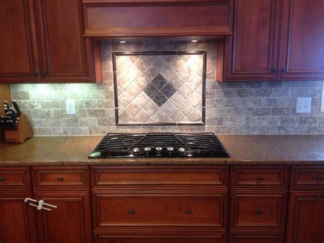 cooktop backsplash designs new tile backsplash with mosaic design cooktop