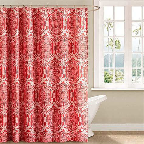 echo design shower curtain echo 174 design cozumel 72 inch x 72 inch shower curtain