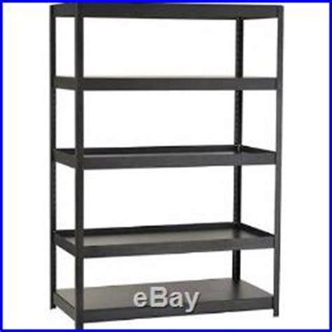 Garage Shelving Units Gumtree Metal Storage Shelves Unit Heavy Duty Steel Metal 5 Shelf