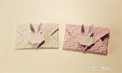 Origami Bunny Envelope - origami envelopes page 1 paper kawaii