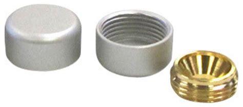 Decorative Bolt Caps by 5 8 X 5 16 Decorative Cover Caps Aluminum