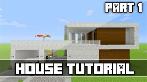 minecraft modern house tutorial part 1 xbox360 ps3