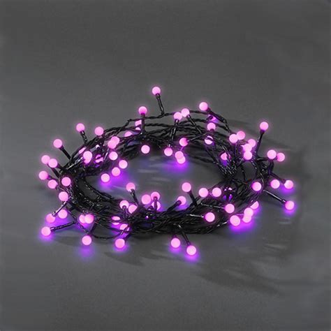 konstsmide 3691 457 80 led purple berry christmas tree