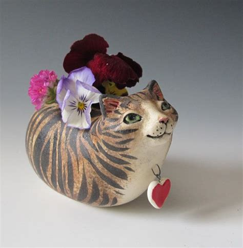 Cat Vase by Cat Vase Cats On Things