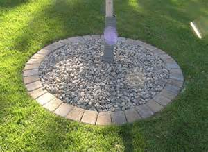 Landscape Edging Circle Paver Tree Ring Outdoor Spaces Tree Rings
