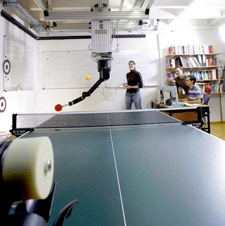 Robot Actively Learn To Play Table Tennis Tfot Table Tennis Robot