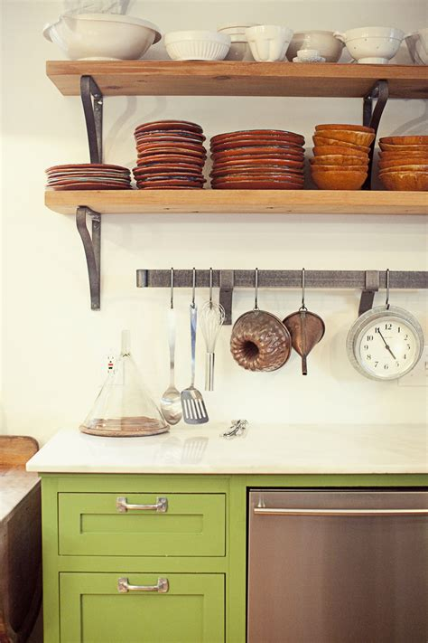 shelf kitchen refresheddesigns trend to try open shelving in the kitchen