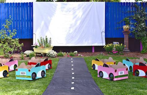 backyard drive in kara s ideas drive in birthday