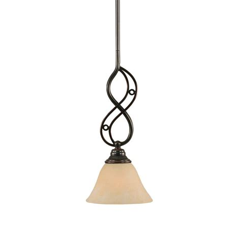 Black And Copper Pendant Light Filament Design Concord 1 Light Black Copper Pendant With Marble Glass Cli Tl5012029 The