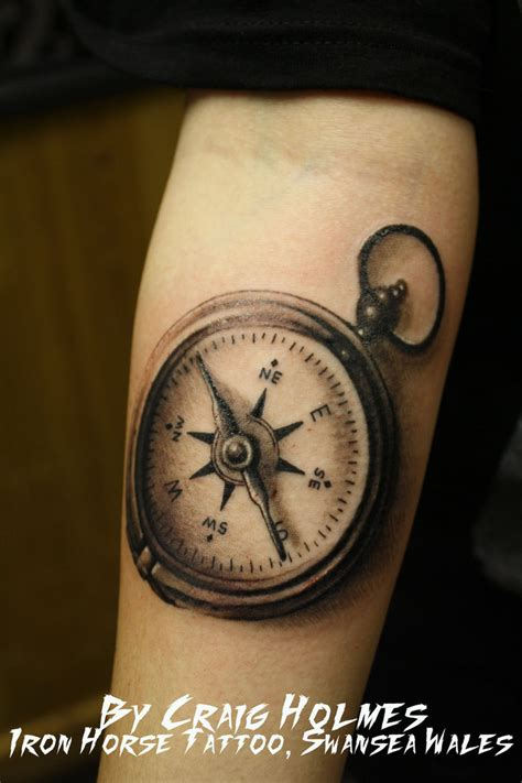 nautical compass tattoos 30 stunning compass designs entertainmentmesh