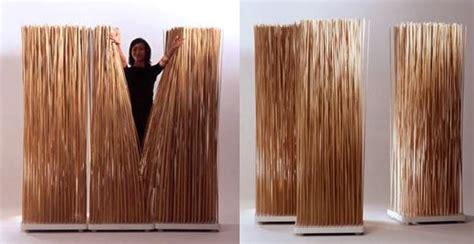 valentine one wooden room dividers stick screen room divider inhabitat sustainable design