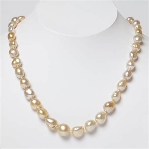 keshi pearl nakamura yellow south sea keshi pearl necklace gump s