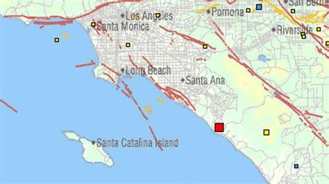 earthquake orange county quake rattles orange county usgs nbc 7 san diego
