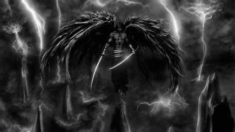 Dark storm weapons artwork warriors angel wallpaper   (115638)