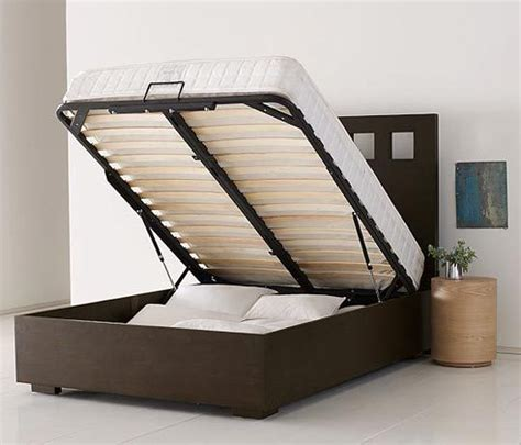 hydraulic bed frame 3 new inexpensive storage beds apartment therapy