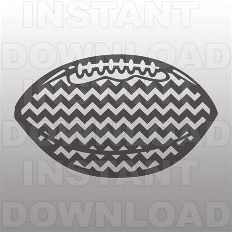 chevron pattern svg file football with chevron pattern svg file vector art
