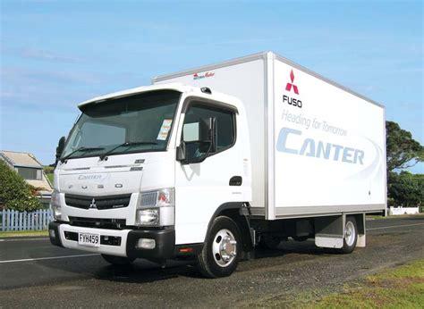 mitsubishi truck canter mitsubishi fuso canter test review launch trade