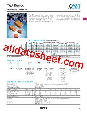 avx capacitor datasheet search avx capacitors tantalum datasheet 28 images m39006 datasheet pdf avx corporation