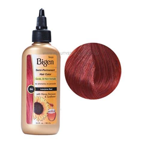 bigen semi permanent hair color bigen intensive r4 semi permanent hair color