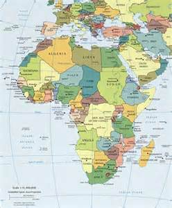 africa and south america map africa landforms and land statistics africa landforms