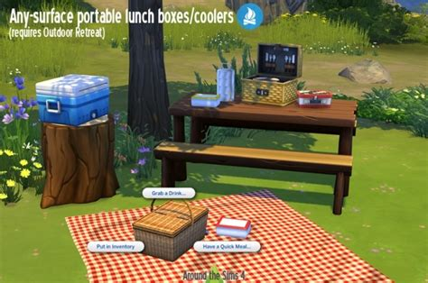 sims 4 moving boxes lunch boxes cooler by sandy at around the sims 4 187 sims