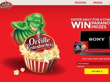Orville Redenbacher Sweepstakes - the orville redenbacher s ghostbusters sweepstakes