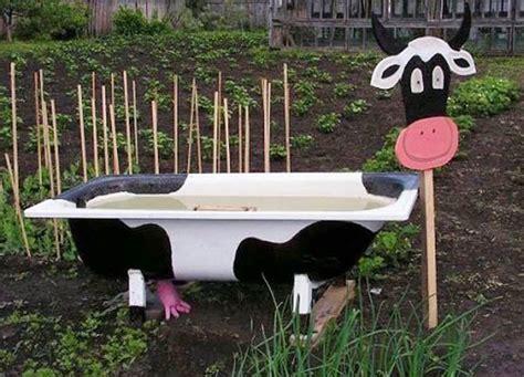 garden bathtub decorating ideas