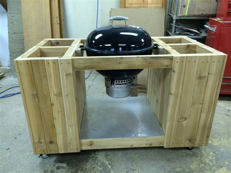 weber grill table plans weber kettle grill cart woodworking projects plans