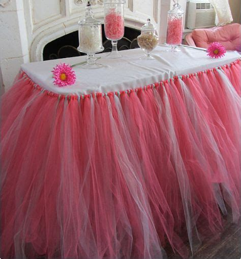 tulle tutu table skirt best 20 table skirts ideas on