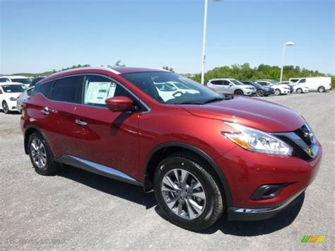 nissan murano red 2016 2017 cayenne red nissan murano sl awd 120350645 photo 3